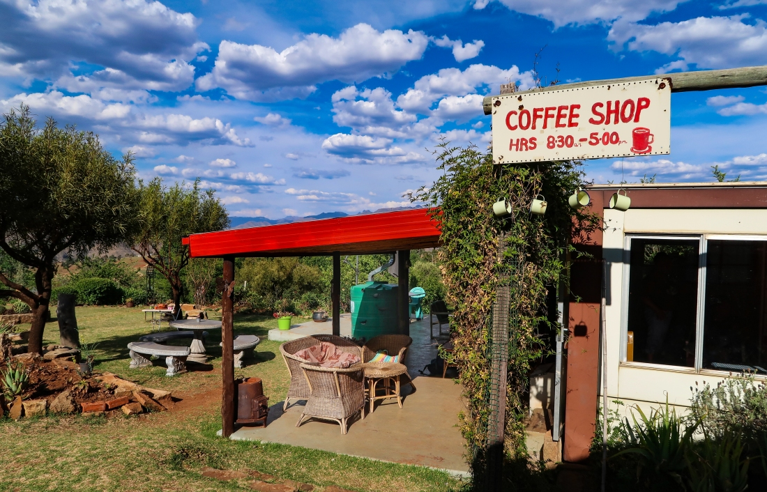 Malealea Lodge Coffee House, photo by Kelly Benning