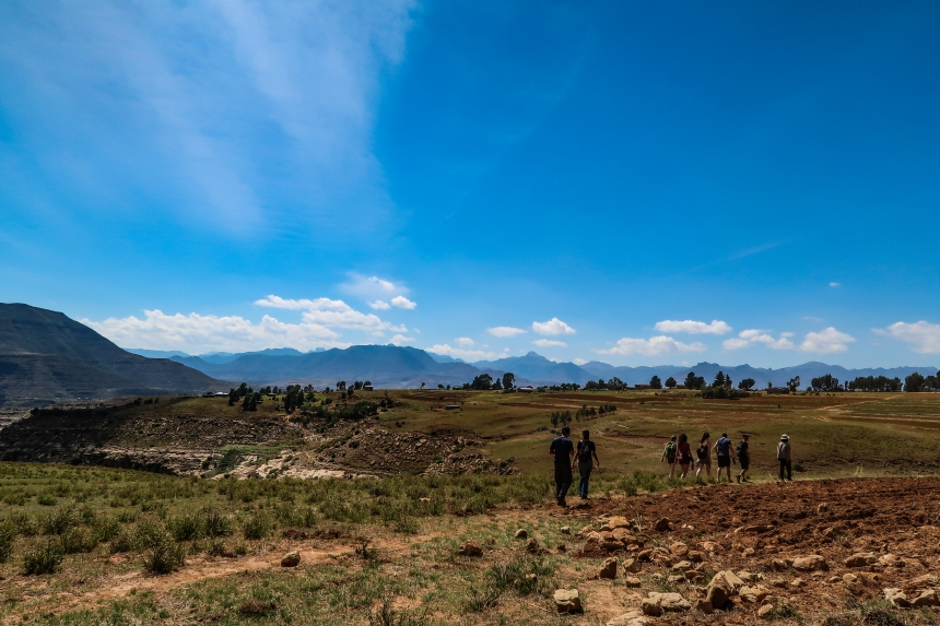 Hiking Tour through Malealea, photo by Kelly Benning