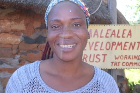portrait of Manthabiseng Mokala - Malealea Development Trust Office Administrator and Bookkeeper