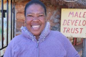portrait of Maphakiso Kelepa - Malealea Development Trust Social Care Worker