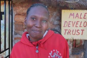 portrait of Mateke Rakojoana - Malealea Development Trust Project Coordinator and Scholarship Officer