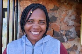portrait of Matsepo Lebitsa - Malealea Development Trust Field Worker